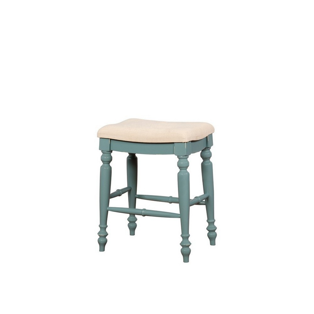 Tremendous Marino Backless Counter Stool Blue Linon Andrewgaddart Wooden Chair Designs For Living Room Andrewgaddartcom