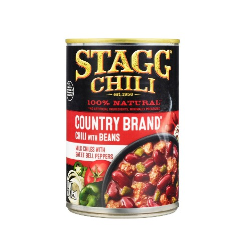 Stagg Chili Country Brand Chili with Beans - 15oz - image 1 of 4