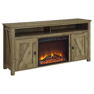 "60"" Brookside Electric Fireplace TV Console - Room & Joy"
