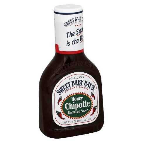 Sweet Baby Ray's Honey Chipotle Barbecue Sauce - 18oz - image 1 of 1