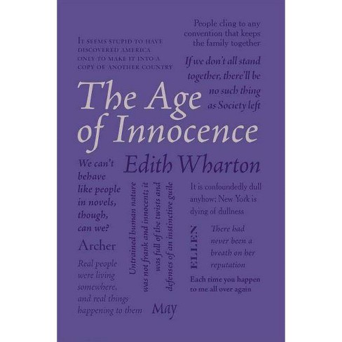 The Age of Innocence - (Word Cloud Classics) by  Edith Wharton (Paperback) - image 1 of 1