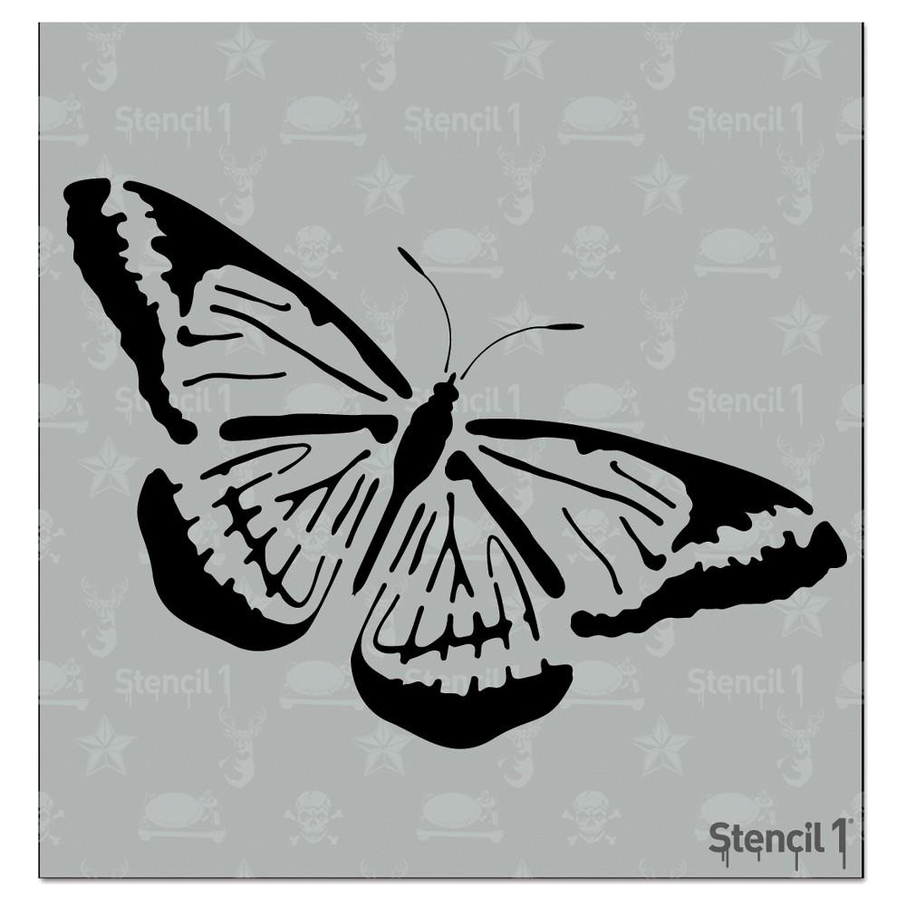 Stencil1 Butterfly Stencil 5 75 34 X 6 34
