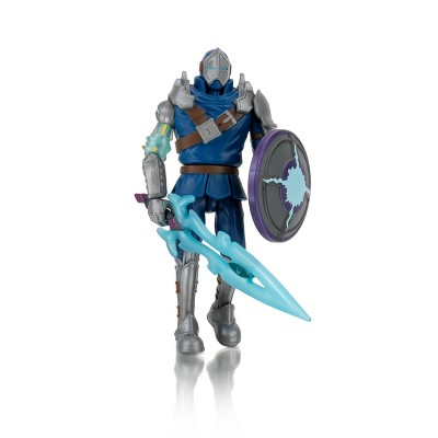 Roblox Imagination Collection - Cythrex, the Darkened Cyborg Knight Figure Pack (Includes Exclusive Virtual Item)