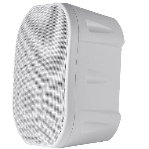 Monoprice 6.5in Weatherproof 2-Way Speakers with Wall Mount Bracket (Pair White) - image 1 of 4