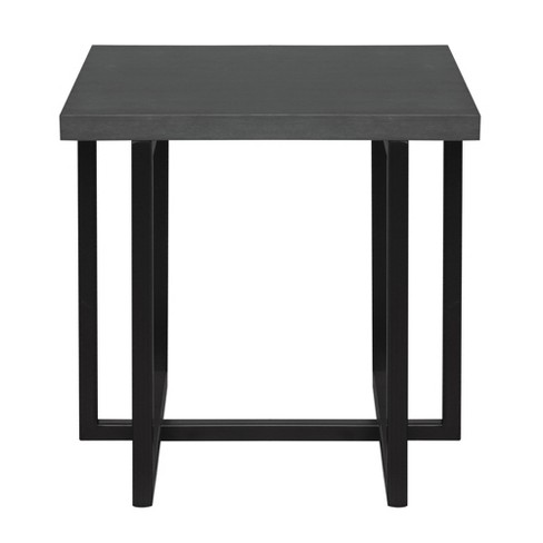 Cool Armen Living Logan Contemporary End Table Gray Home Interior And Landscaping Spoatsignezvosmurscom
