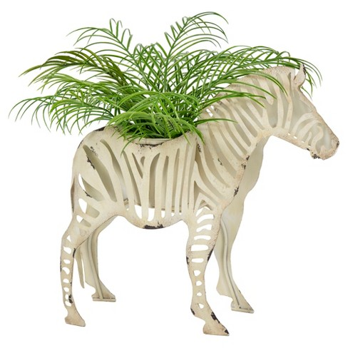 Zebra Sukari Planter - Cream - Bombay® Outdoors - image 1 of 5