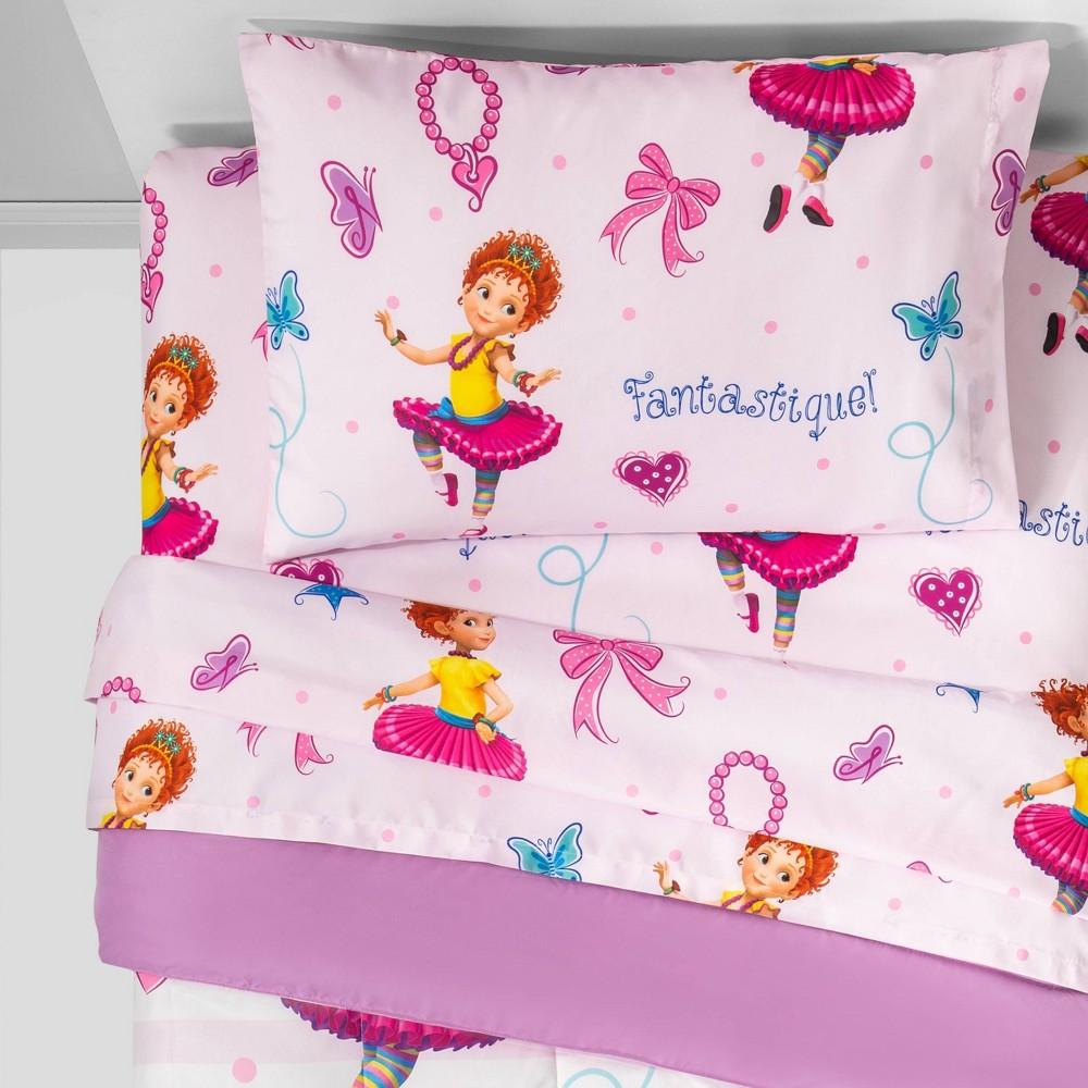 Image of Fancy Nancy Twin Bedding Set Pink