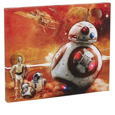 Seven20 Star Wars BB-8 Illuminating Canvas Wall Art