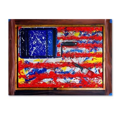 "14"" x 19"" American Paint by Roderick Stevens - Trademark Fine Art"