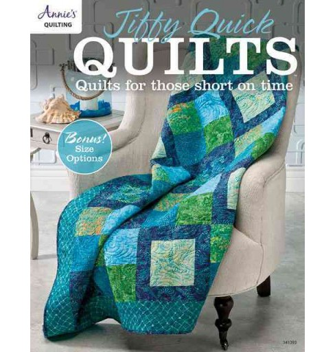 Jiffy Quick Quilts : Quilts for Those Short on Time (Paperback) - image 1 of 1