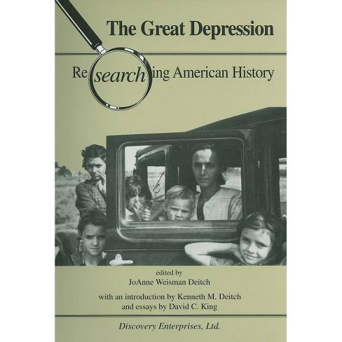 Great Depression (History Compass) 2 - (Researching American History) (Paperback) - image 1 of 1