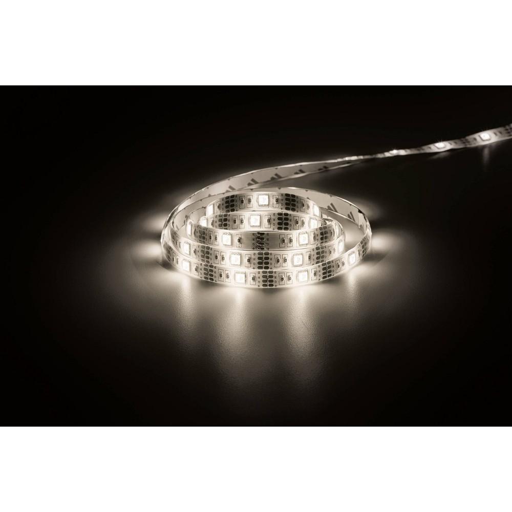 "Image of ""72"""" FlexGlo LED Strip Light White - Merkury Innovations"""