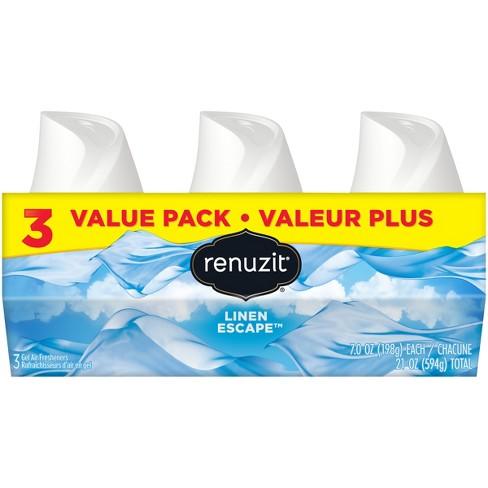 Renuzit Linen Escape Gel Air Freshener - 3pk/7oz - image 1 of 5