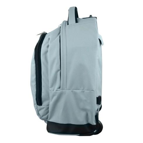 9058eae772f NBA® Golden State Warriors Mojo Premium Wheeled Backpack - Gray   Target