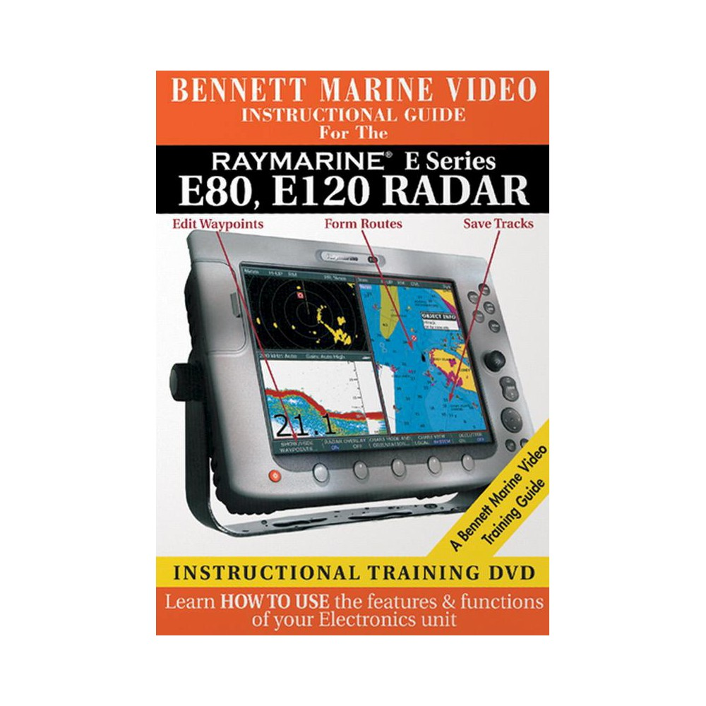 Raymarine E Series:E80 E120 Radar (Dvd)