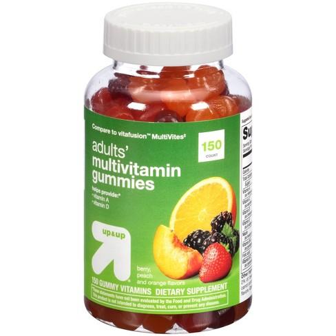 Multivitamin Gummies - Berry, Peach & Orange - 150ct - Up&Up™ - image 1 of 2