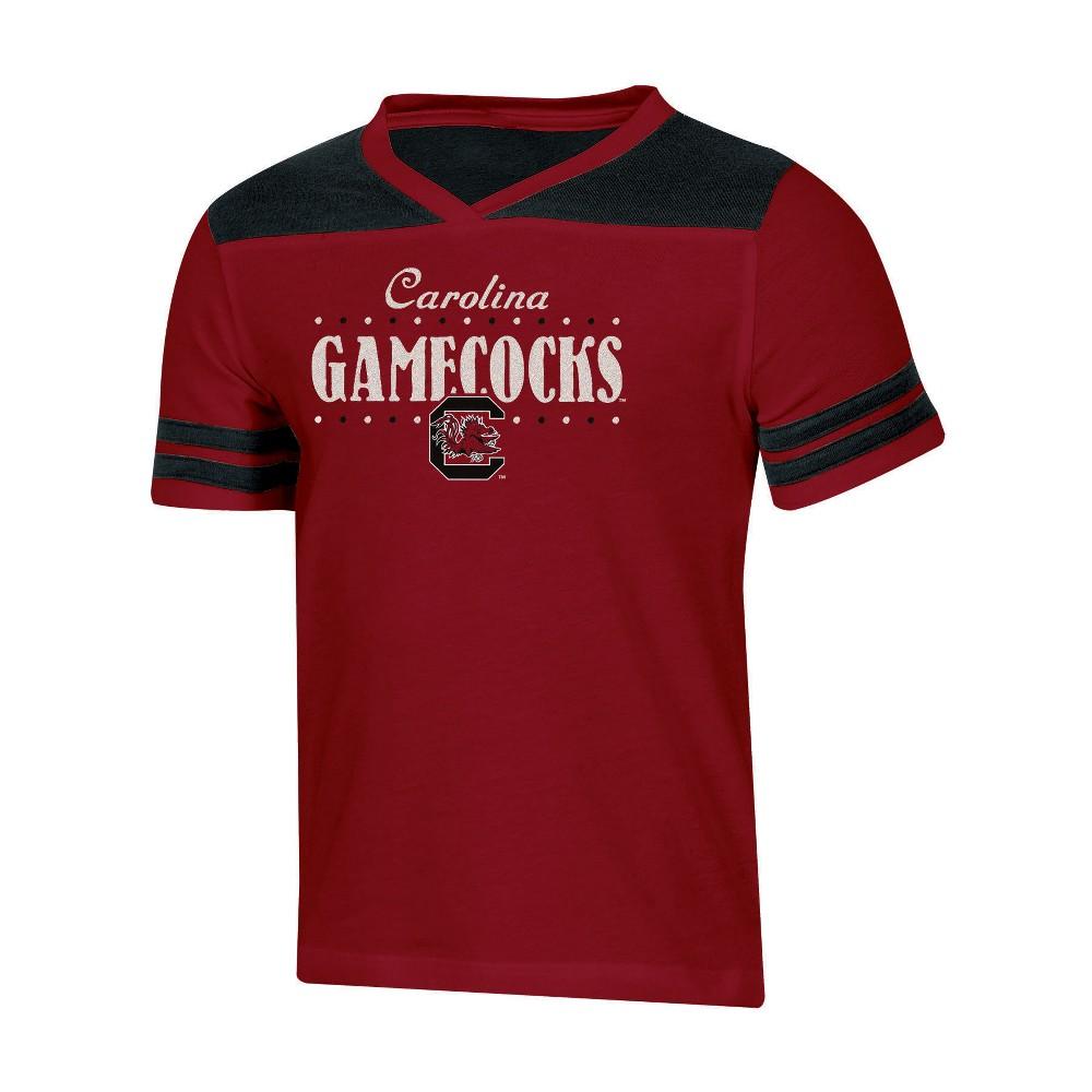 NCAA Girls' Heather Fashion T-Shirt South Carolina Gamecocks - M, Multicolored