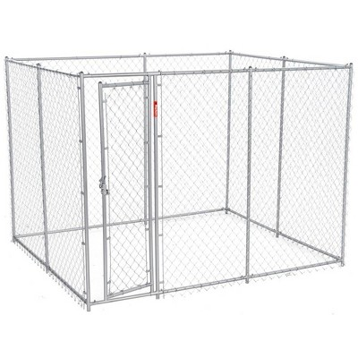 Lucky Dog 10' x 5' x 6' Heavy Duty Outdoor Chain Link Dog Kennel Enclosure