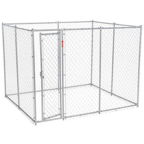 Lucky Dog 10' x 5' x 6' Heavy Duty Outdoor Chain Link Dog Kennel Enclosure - image 1 of 4