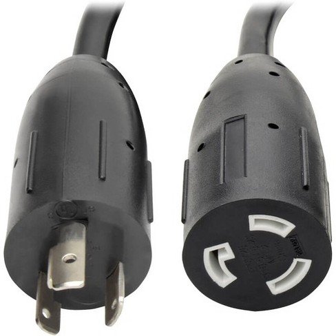 Tripp Lite 15ft Power Cord Extension Cable L5-20P to L5-20R with Locking Connectors Heavy Duty 20A 12AWG 15' - 125 V AC Voltage Rating - image 1 of 4