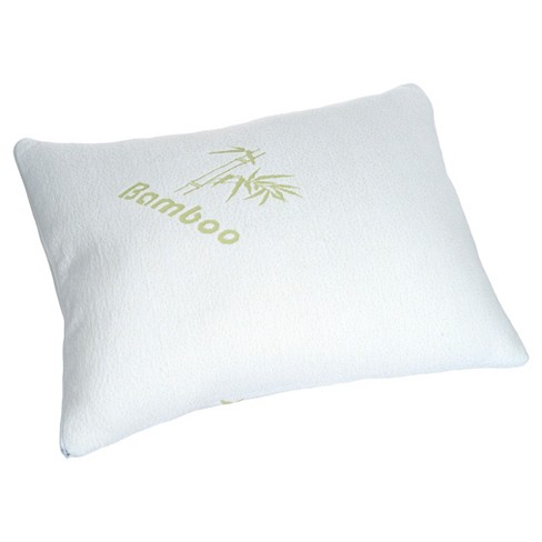 Bluestone Rayon from Bamboo Memory Foam Pillow - White - image 1 of 5