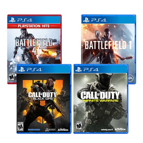 Call of Duty / Battlefield- 4 Video Game Pack - PlayStation 4 - image 1 of 4