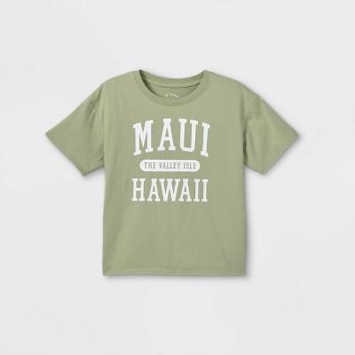 Girls' Boxy Short Sleeve Graphic T-Shirt - art class™