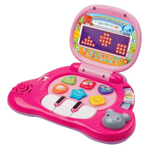 VTech® Baby's Light up Laptop Pink - image 1 of 5