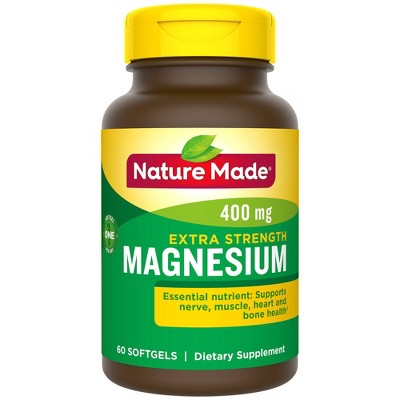 Vitamins & Supplements: Nature Made Extra Strength Magnesium