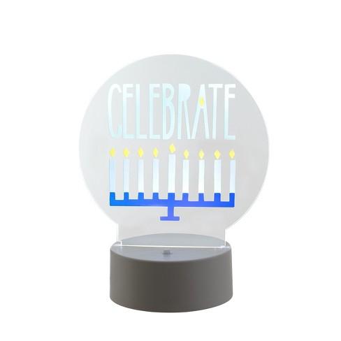 Celebrate Acrylic Edge Lit Sign - Room Essentials™
