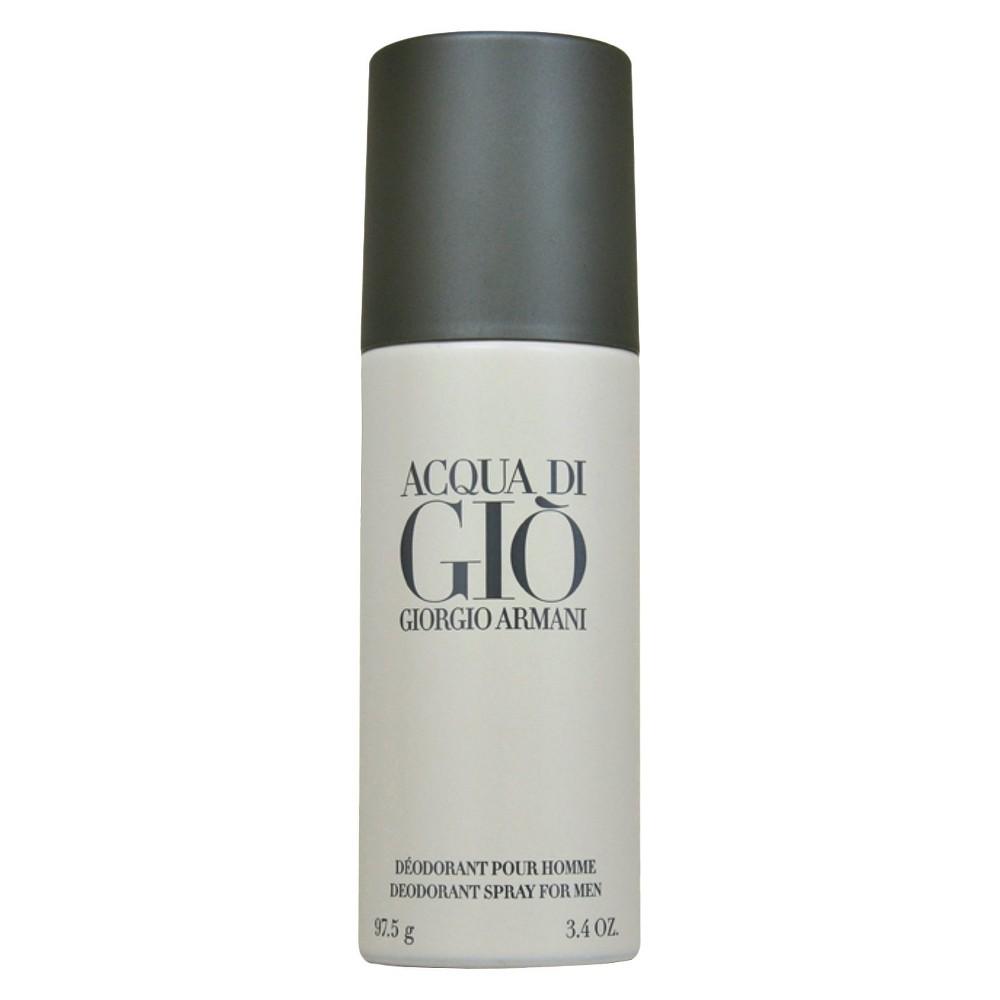 Men's Acqua Di Gio by Giorgio Armani Deodorant Spray (Can) - 3.4 oz, Balboa Blue