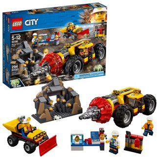 LEGO City Mining Heavy Driller 60186