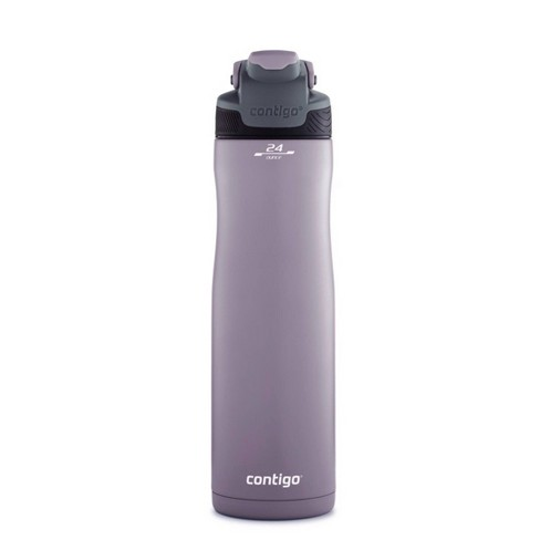 Contigo 24oz Stainless Steel Leak-Proof and Spill-Proof AUTOSEAL Chill Water Bottle Dark Plum - image 1 of 4