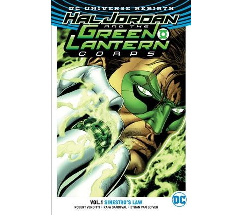 Hal Jordan and the Green Lantern Corps 1 : Sinestro's Law (Paperback) (Robert Venditti) - image 1 of 1