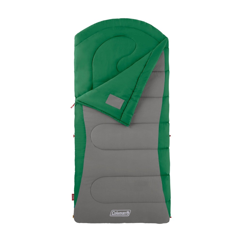 Coleman Cont Dexter 40 Degree Big And Tall Sleeping Bag Green