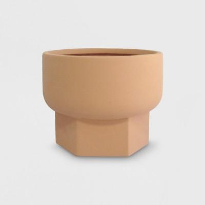 6  Hexagon Stoneware Planter Terracotta - Project 62™