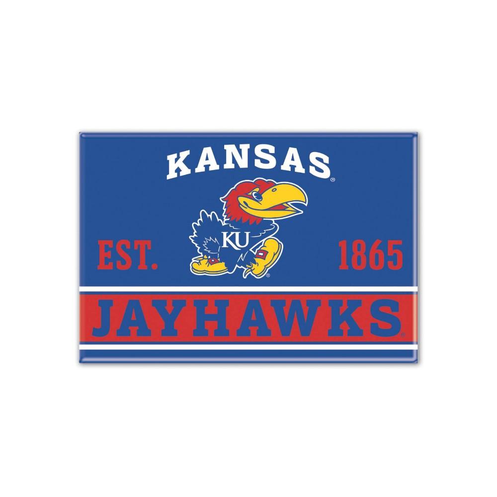 NCAA Kansas Jayhawks University Fridge Magnet
