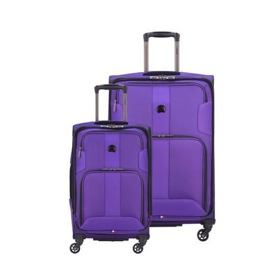 DELSEY Paris Sky Max 2pc Luggage Set - Purple