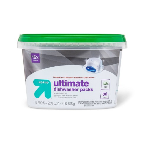 Fresh Scent Ultimate Dishwasher Packs - 36ct - Up&Up™ - image 1 of 1