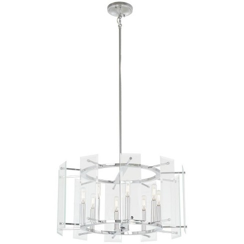 "Minka Lavery 2397 Beacon Trace 8 Light 24"" Wide Taper Candle Drum Chandelier - image 1 of 1"