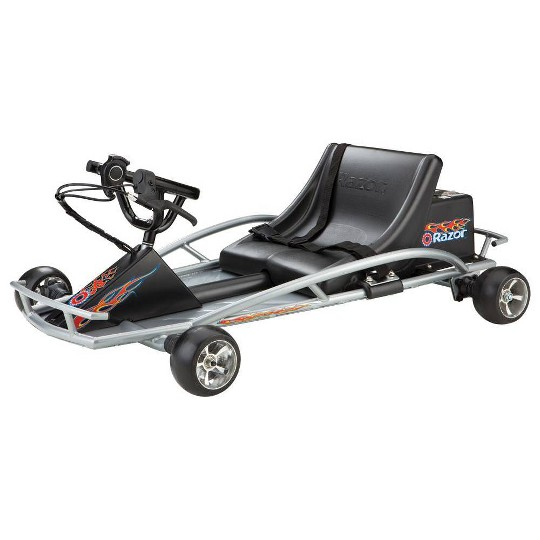 Razor Ground Force Electric Go Kart, Silver image number null