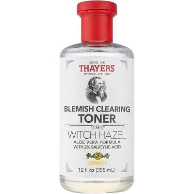 Thayers Witch Hazel Lemon Blemish Clearing Toner - 12 fl oz
