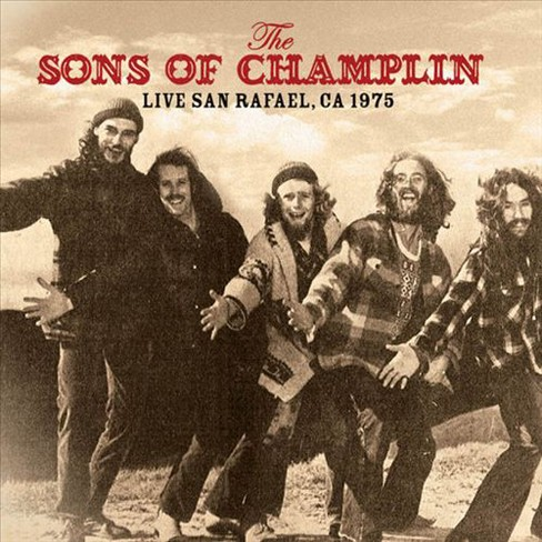 Sons of champlin - Live san rafael ca 1975 (CD) - image 1 of 1