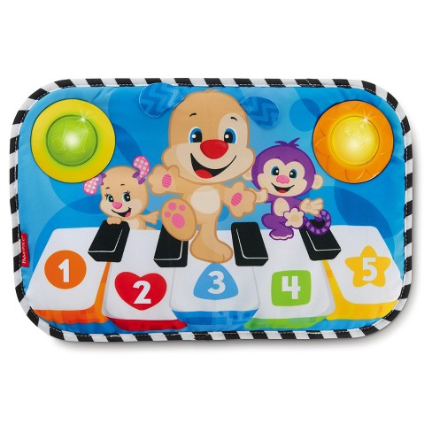 Fisher-Price Laugh & Learn Puppy Kick & Play Crib Piano - image 1 of 11