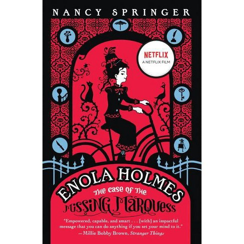 Enola Holmes: The Case of the Missing Marquess - (Enola Holmes Mystery) by Nancy Springer (Paperback) - image 1 of 1