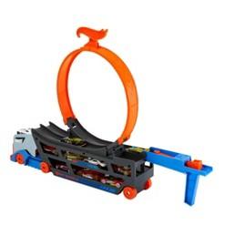 Hot Wheels Stunt N' Go Trackset w/ 10 Diecast Cars
