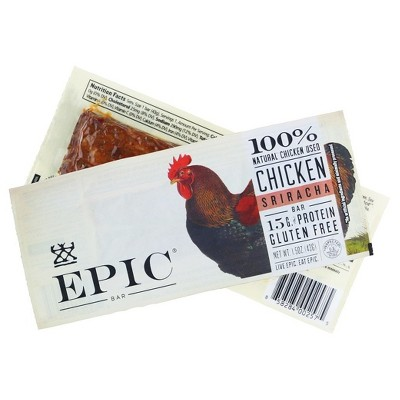 Epic Chicken Sriracha Nutrition Bar - 1.5oz