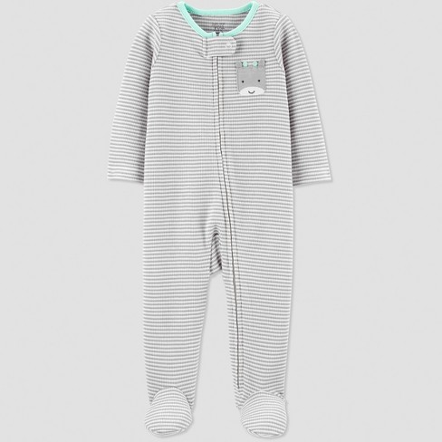 d97e555e8 Baby Girls  Thermal Stripe Sleep  N Play - Just One You® Made By ...