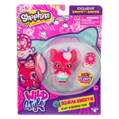 Shopkins® Wild Style Shoppet - Squeak Sweetie - image 1 of 5