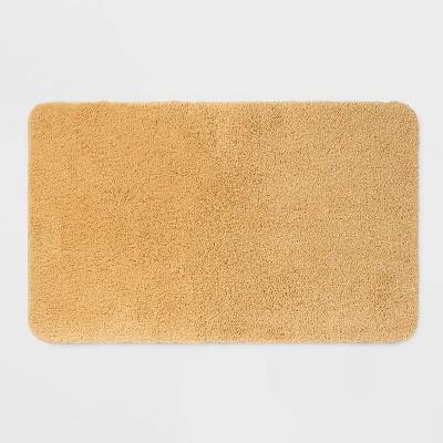 37 x23  Performance Nylon Bath Rug Yellow - Threshold™